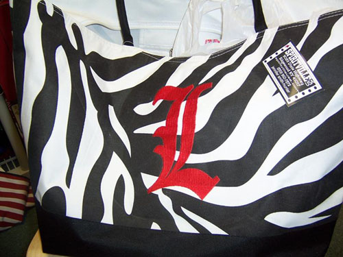 Zebra Bag from Spiritville USA