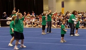 Harrison Cheer Stars, Special Needs Squad from Harrison, Ohio