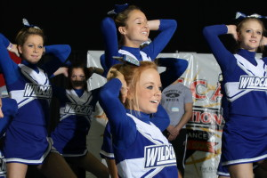 Northern Kentucky Cheerleaders at NKCCA Competition