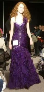 Prom Dress Purple