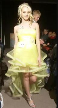 Yellow Prom Dress 2011