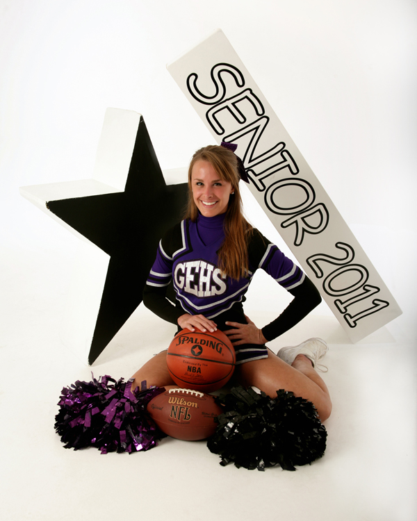 1109 Glen Este Cheerleader Taylor